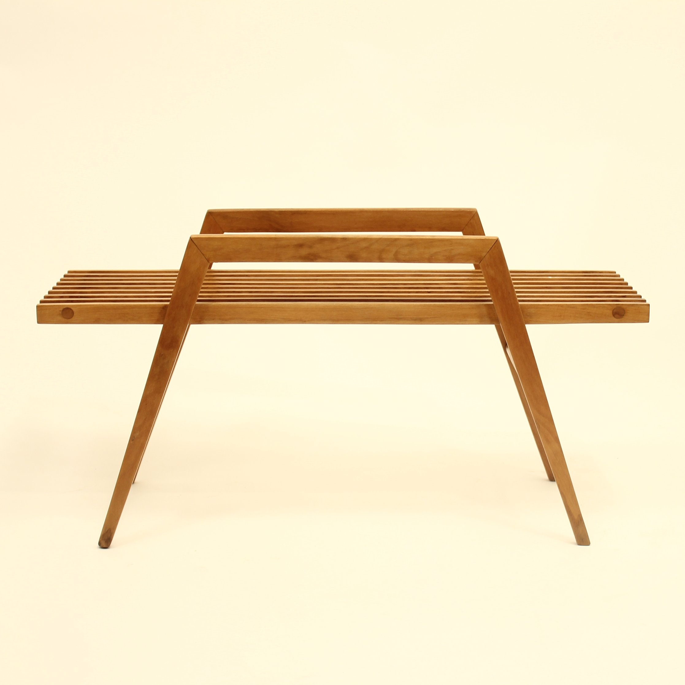 Miraculous Wooden Plant Stand 1960S Gmtry Best Dining Table And Chair Ideas Images Gmtryco