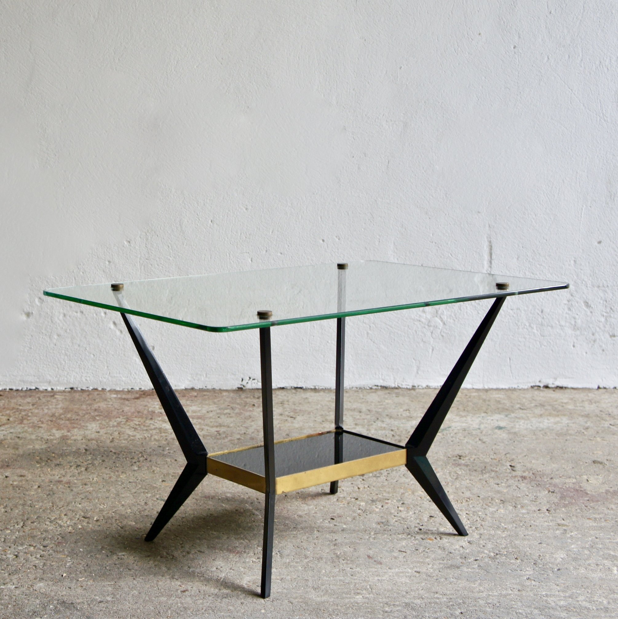 Surprising Italian Coffee Table By Angelo Ostuni 1950S Interior Design Ideas Clesiryabchikinfo