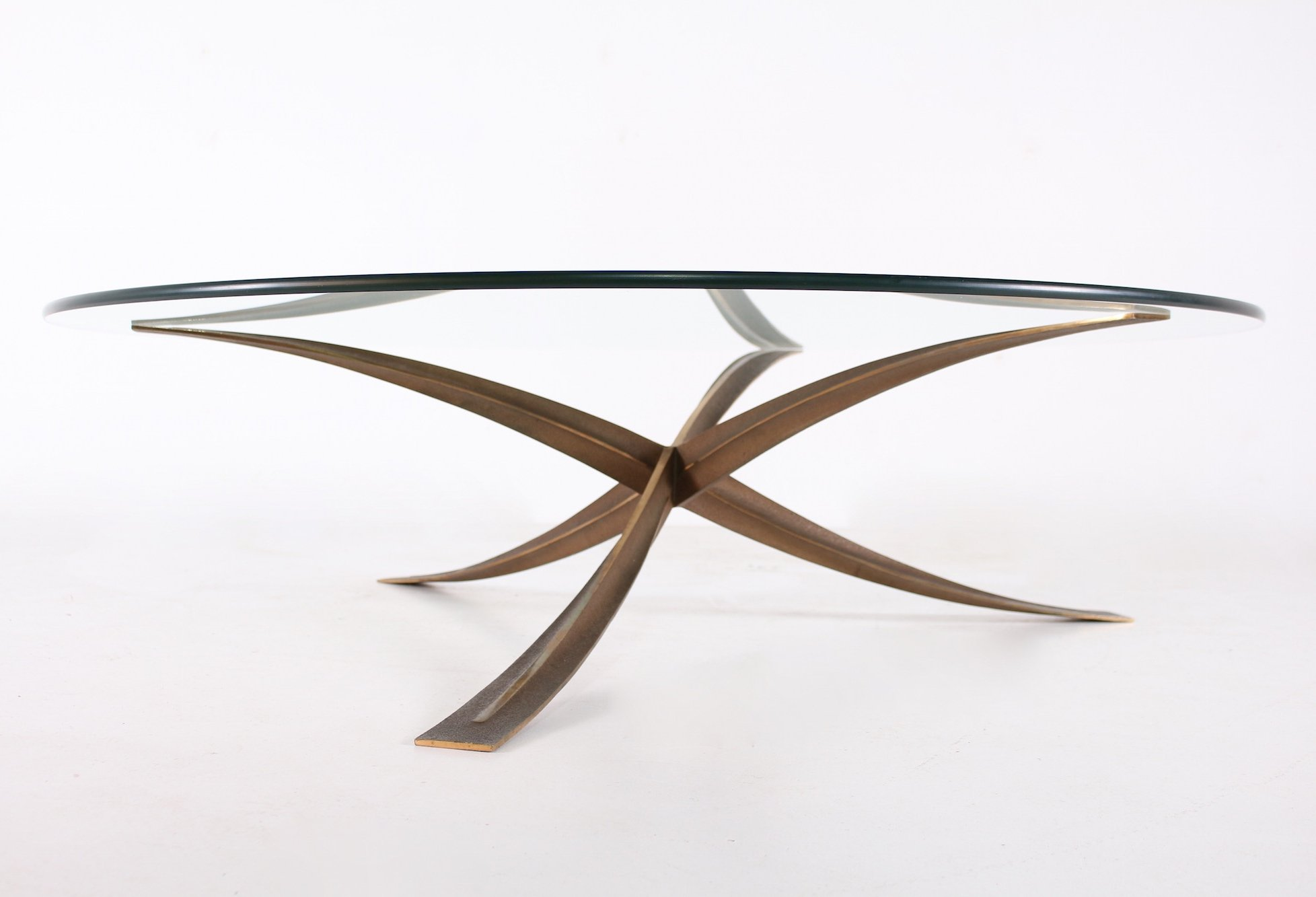 - Bronze Coffee Table By Michel Mangematin #103290