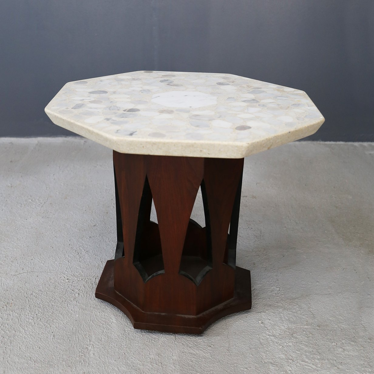 Terrazzo Coffee Table By Harvey Probber 1950s 104089