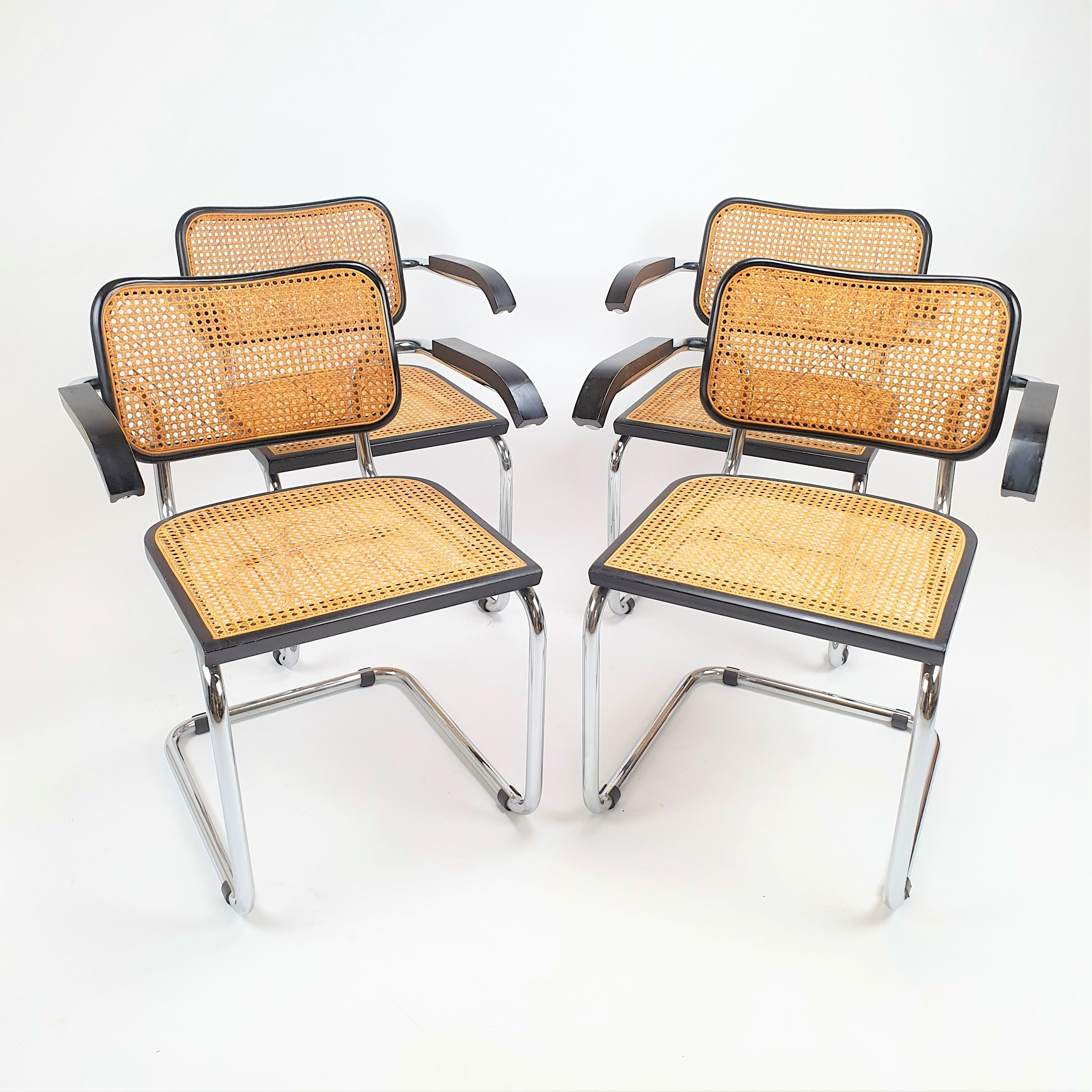 Miraculous Set Of 4 Marcel Breuer S64 Thonet Dining Chairs 1970S 104522 Pdpeps Interior Chair Design Pdpepsorg