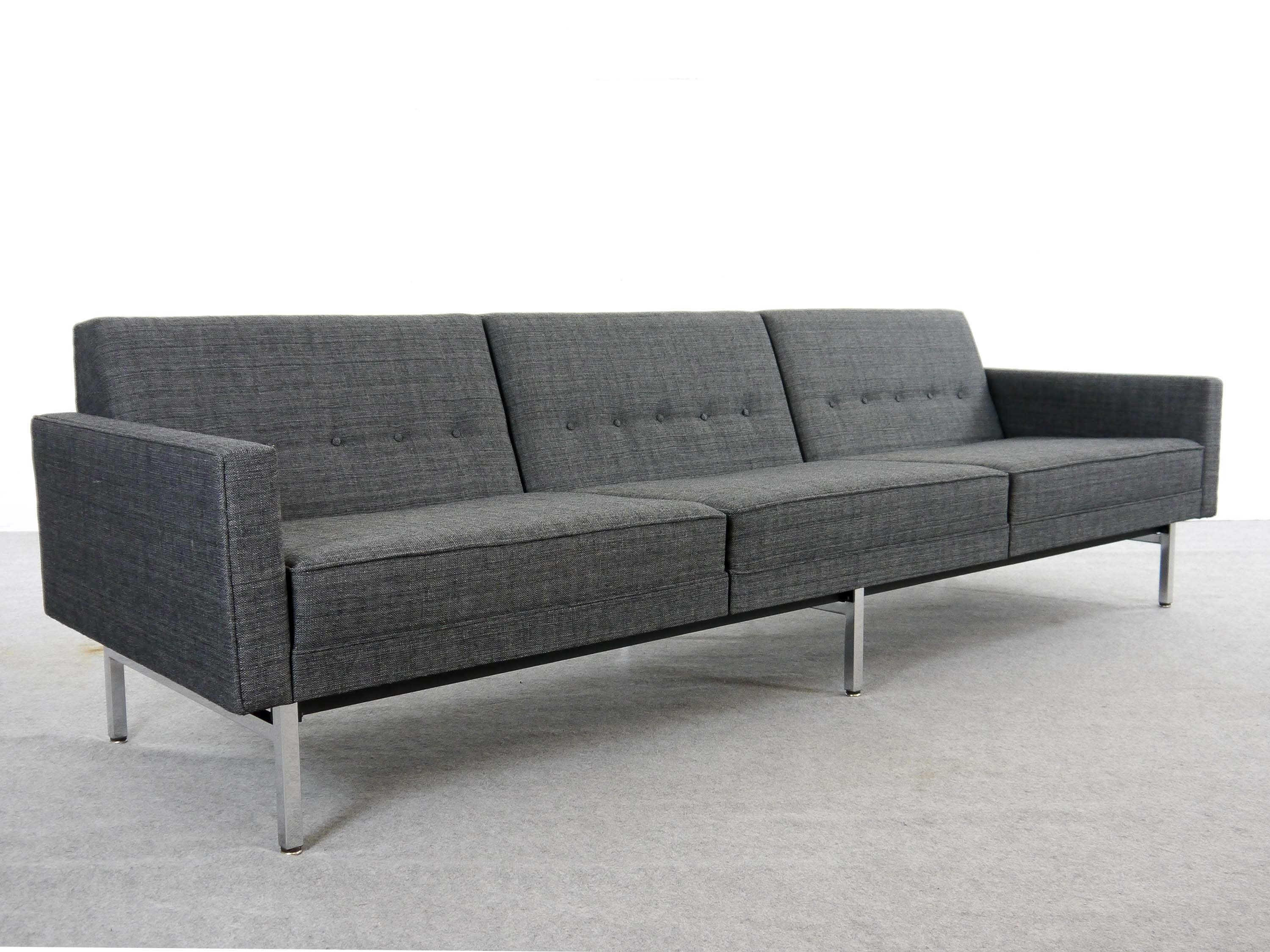 Outstanding Grey Fabric Modular Seating Sofa By George Nelson For Herman Miller 1965 Machost Co Dining Chair Design Ideas Machostcouk