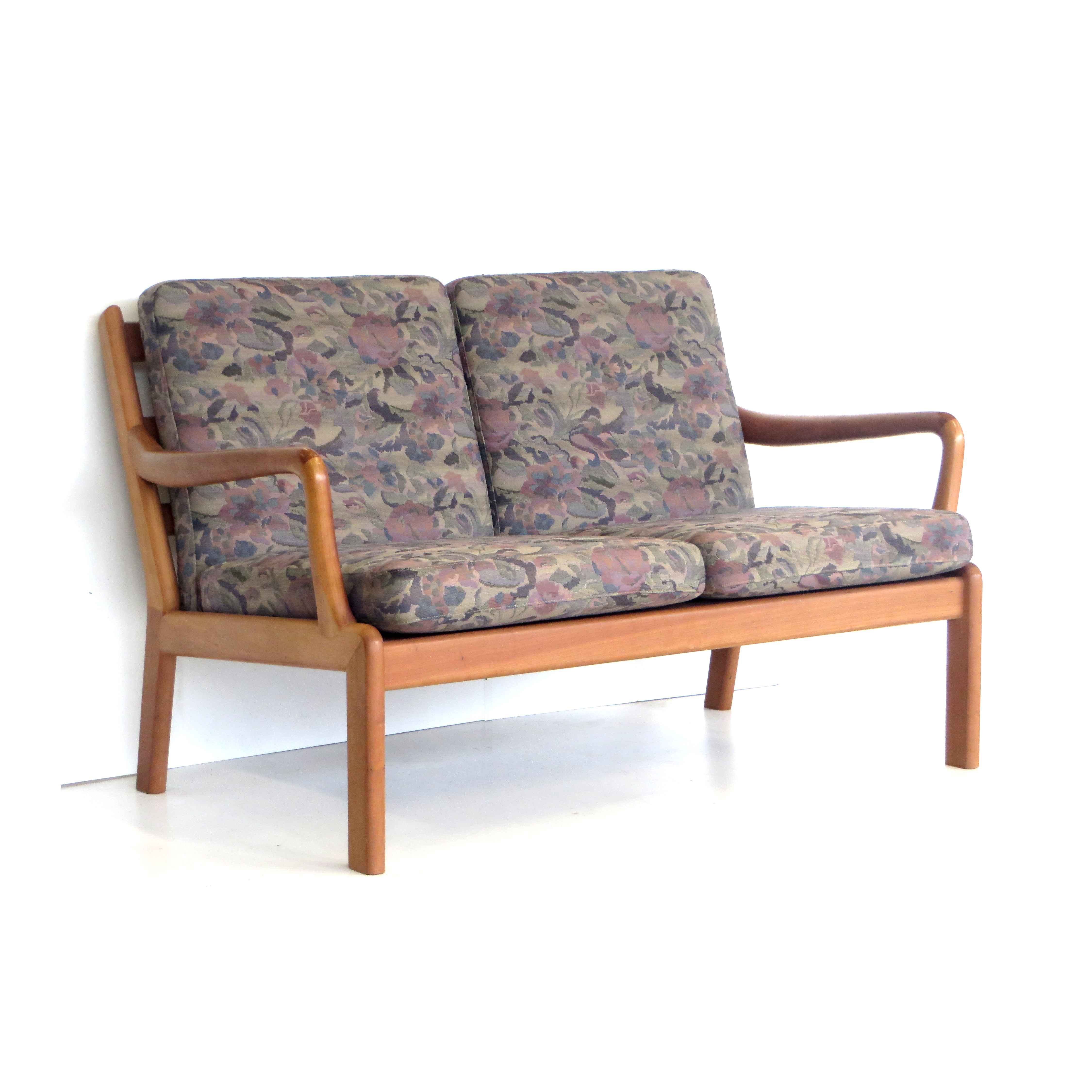 Vintage Two Seater Sofa By L Olsen