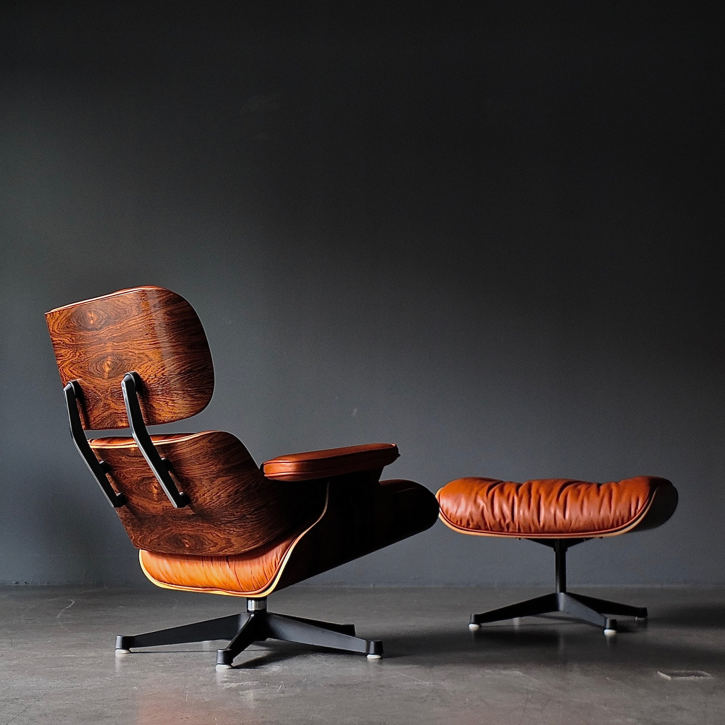 Superb Brazilian Rosewood Eames Lounge Chair Ottoman 1970S 106635 Ibusinesslaw Wood Chair Design Ideas Ibusinesslaworg