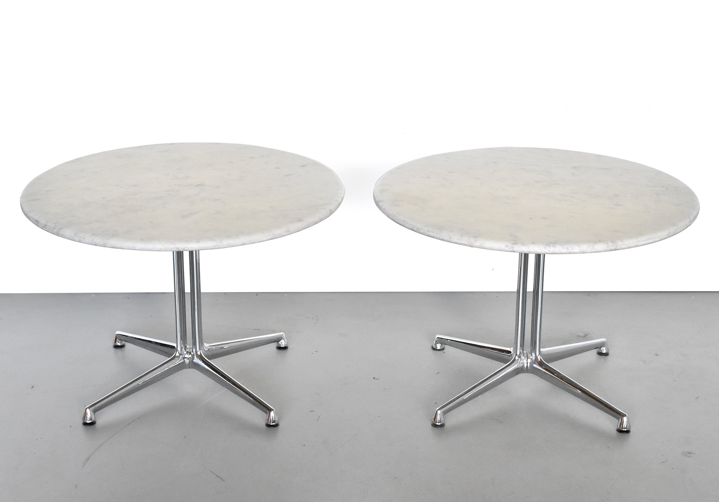 Pair of La fonda side tables by Charles & Ray Eames for Herman Miller, 1960s