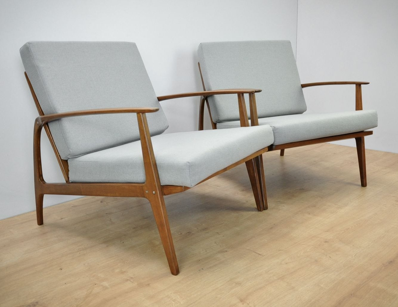 pair of scandinavian armchairs 1960s