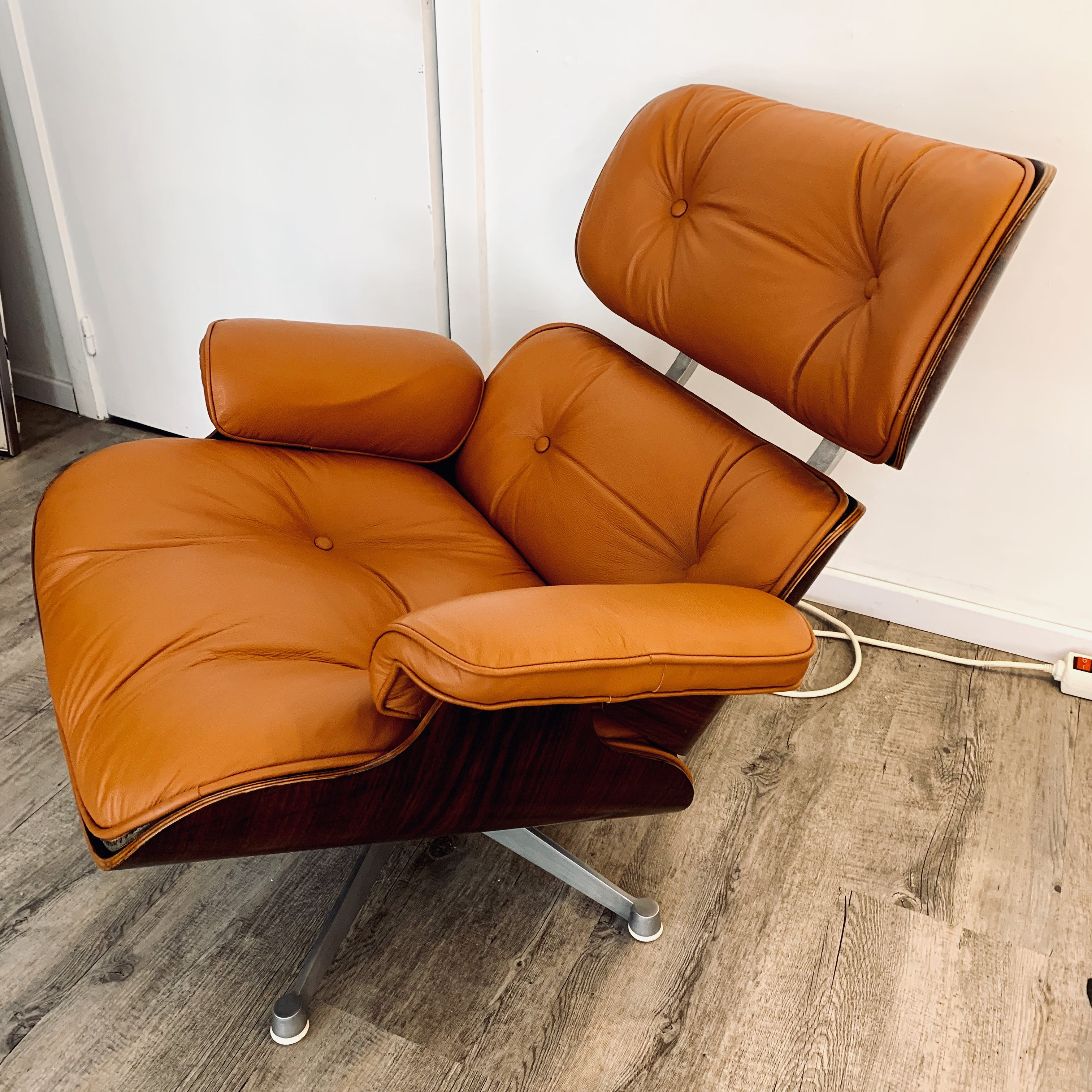 Eames Lounge Chair.1st Edition Eames Lounge Chair By Charles Ray Eames For Icf Italy 1957
