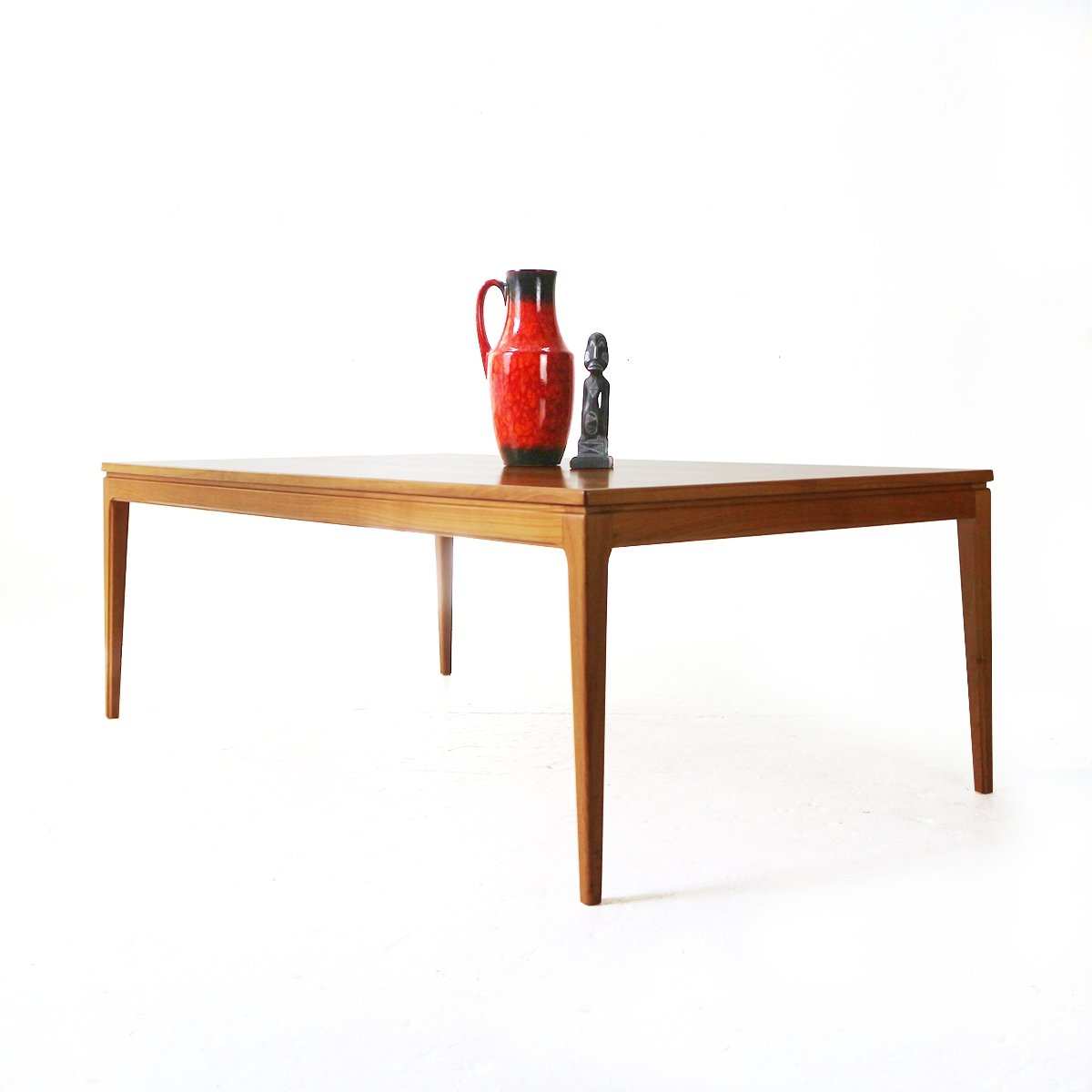 large 60s cherrywood coffee table