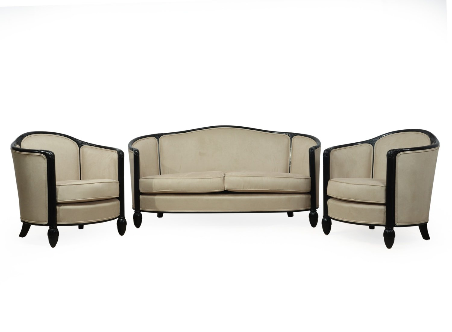 French Art Deco Chairs Sofa By Paul