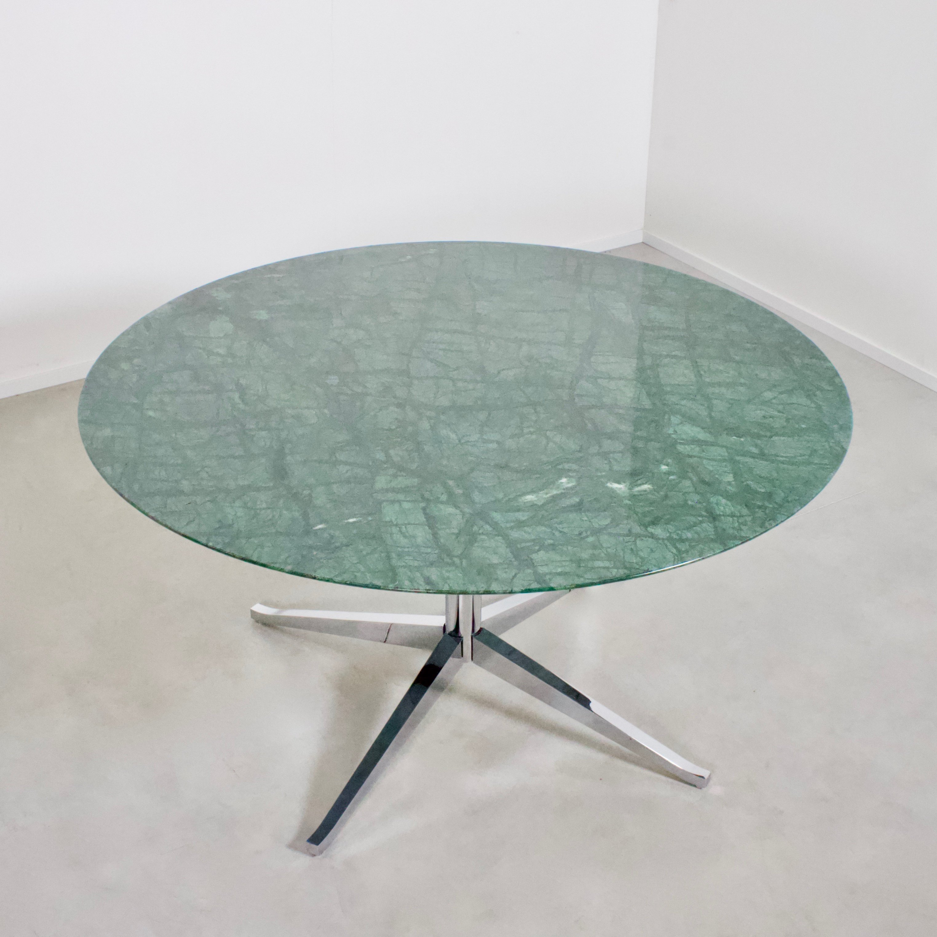 Table Florence Knoll Prix florence knoll green marble dining table for knoll