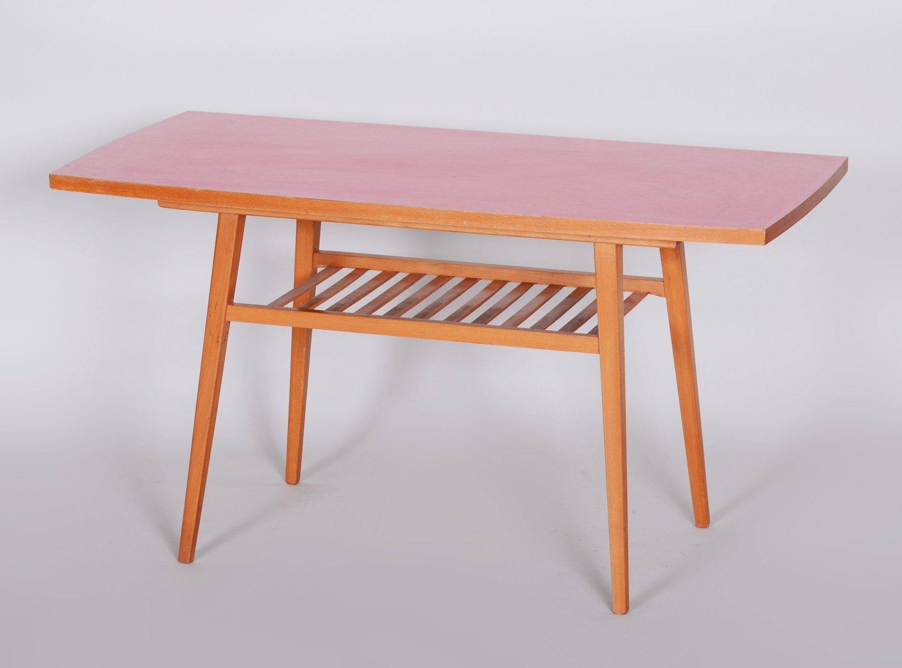 Image of: Small Midcentury Coffee Table In Beech Umakart Czechia 1960s 114575