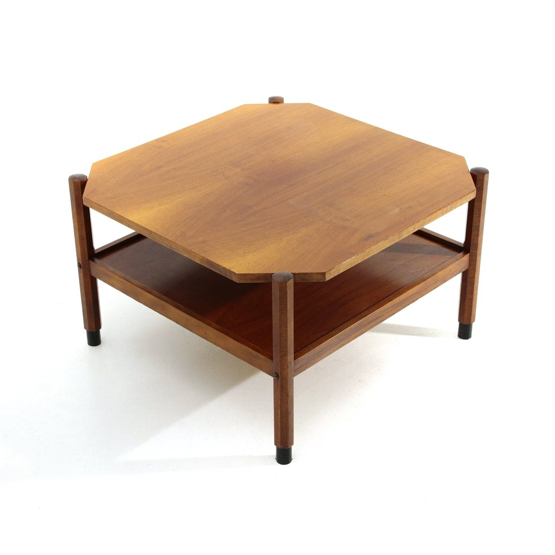 Picture of: Midcentury Square Teak Coffee Table 1960s 116132