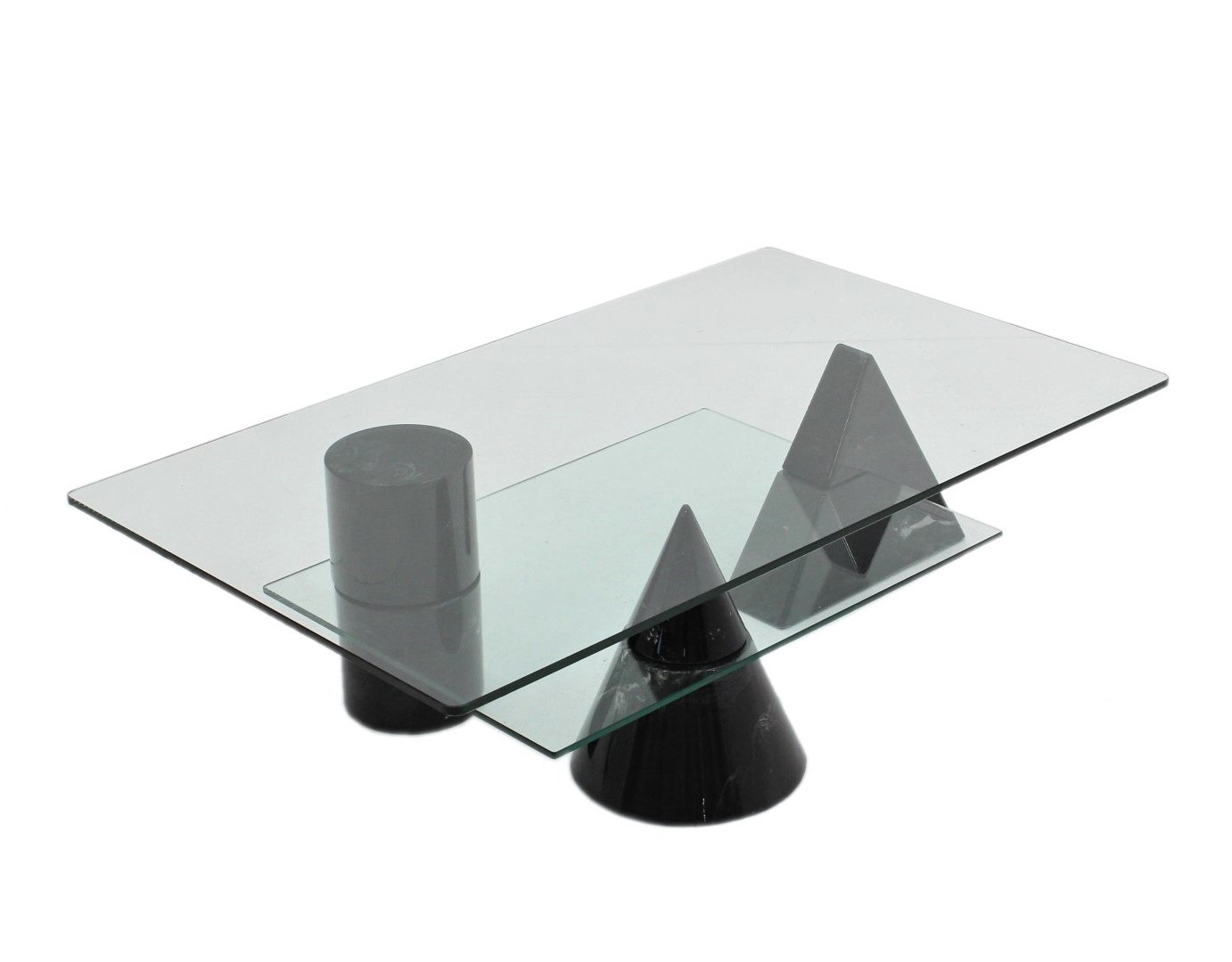 Geometric Coffee Table By Martinelli Luce 1970s 116204