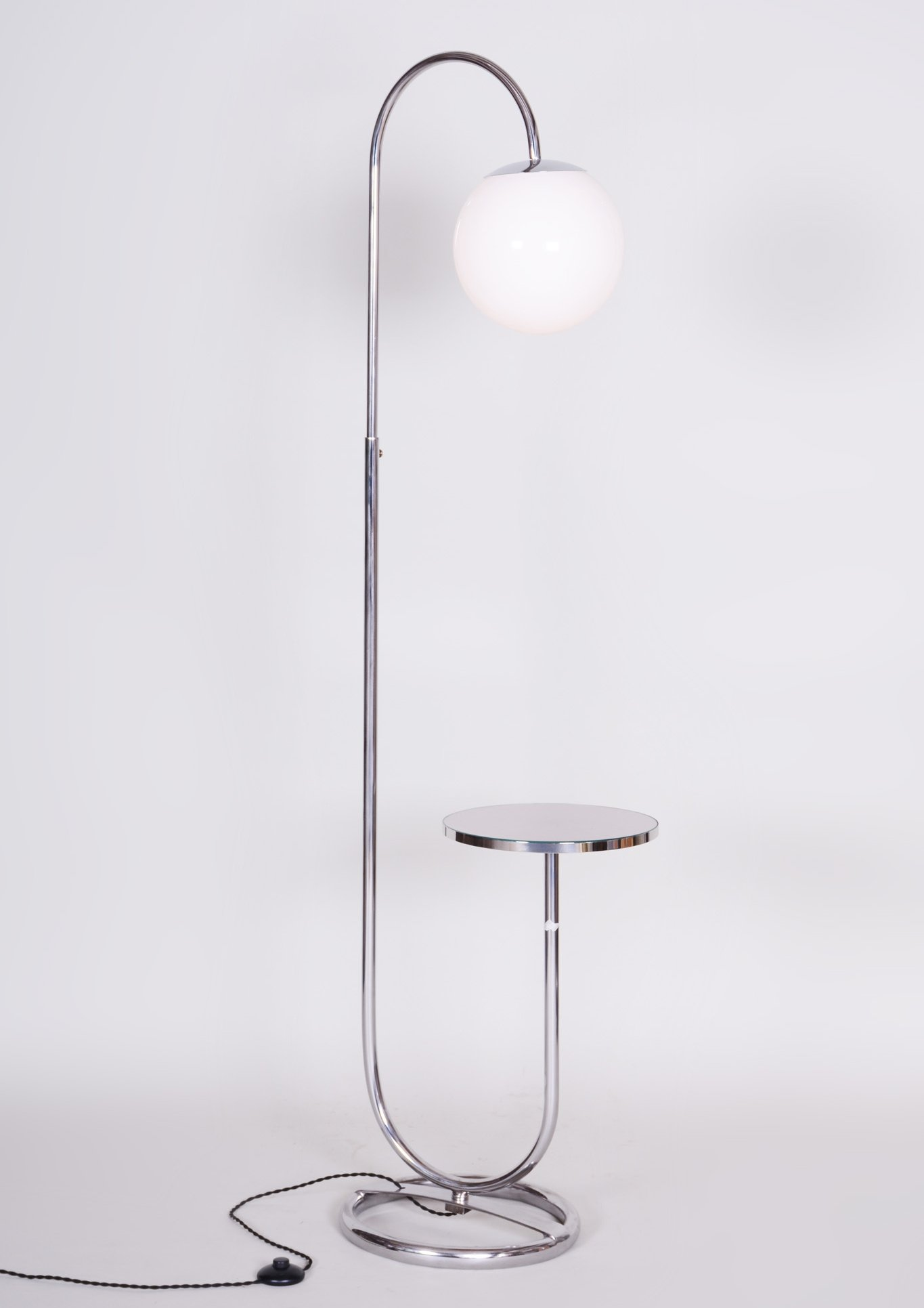 Picture of: 20th Century Chrome Floor Lamp By Hynek Gottwald 1930s 116524