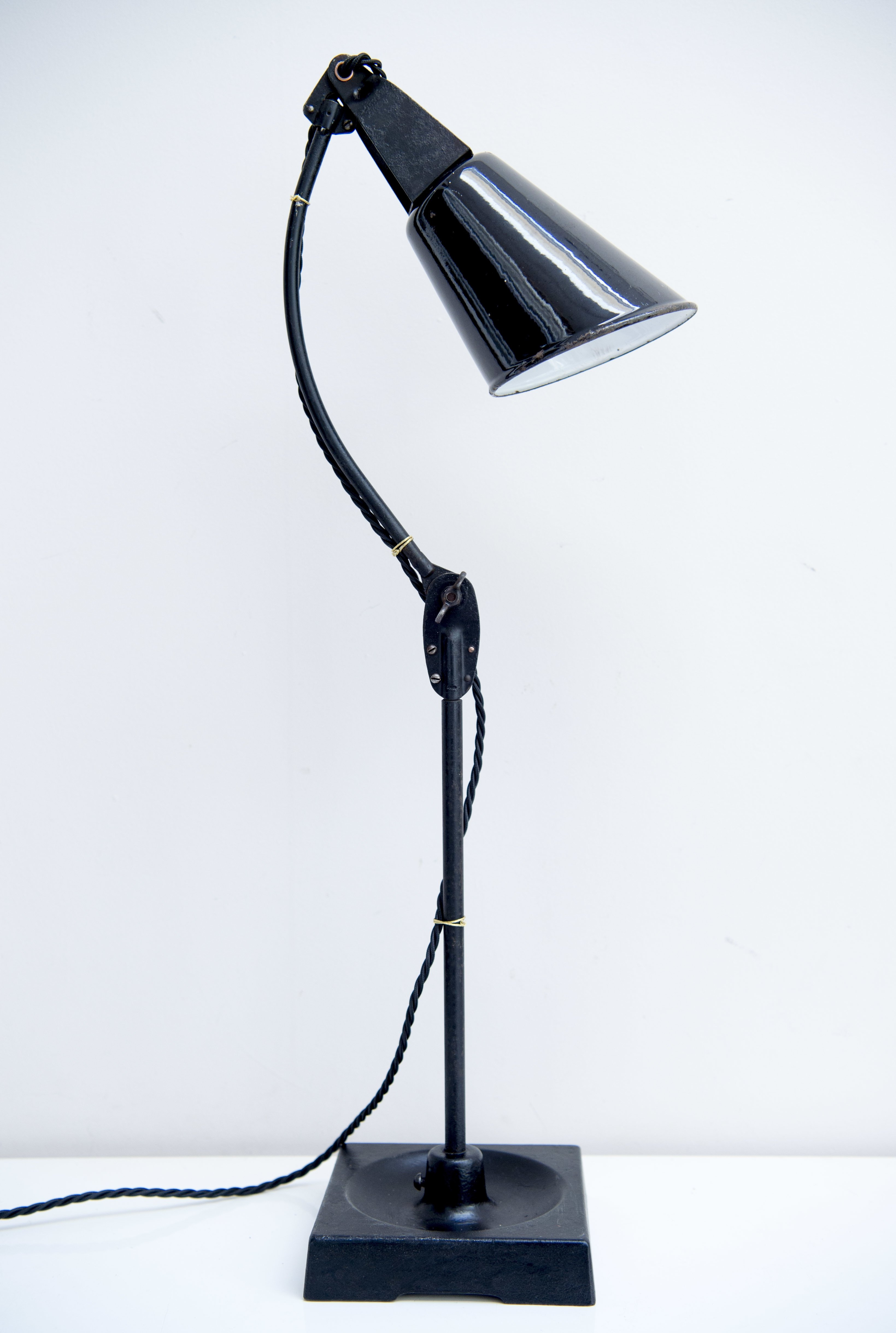 Industrial Desk Lamp By Walligraph England 1930s 118412