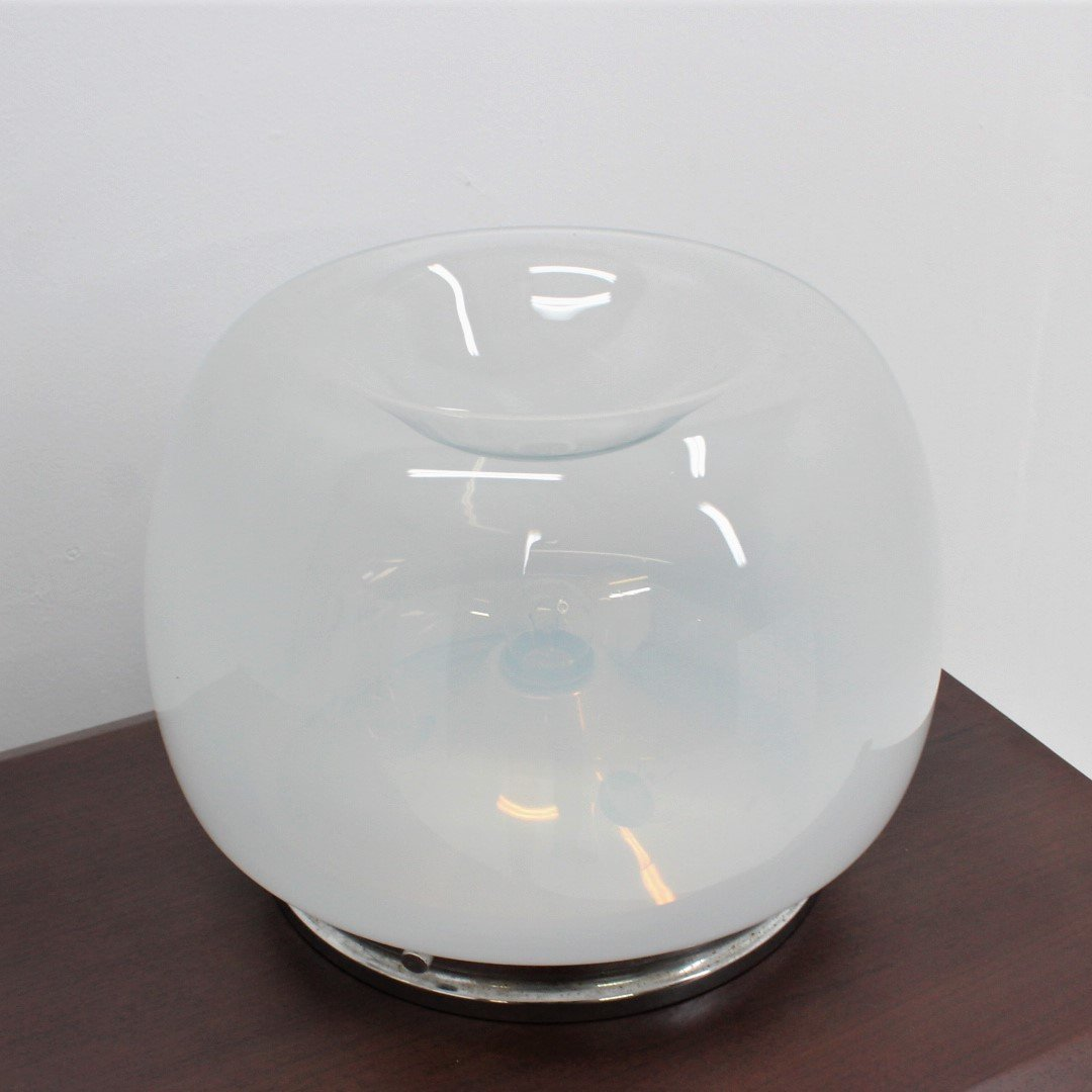 Picture of: Hand Blown Glass Table Lamp By Mazzega 1970s 119448