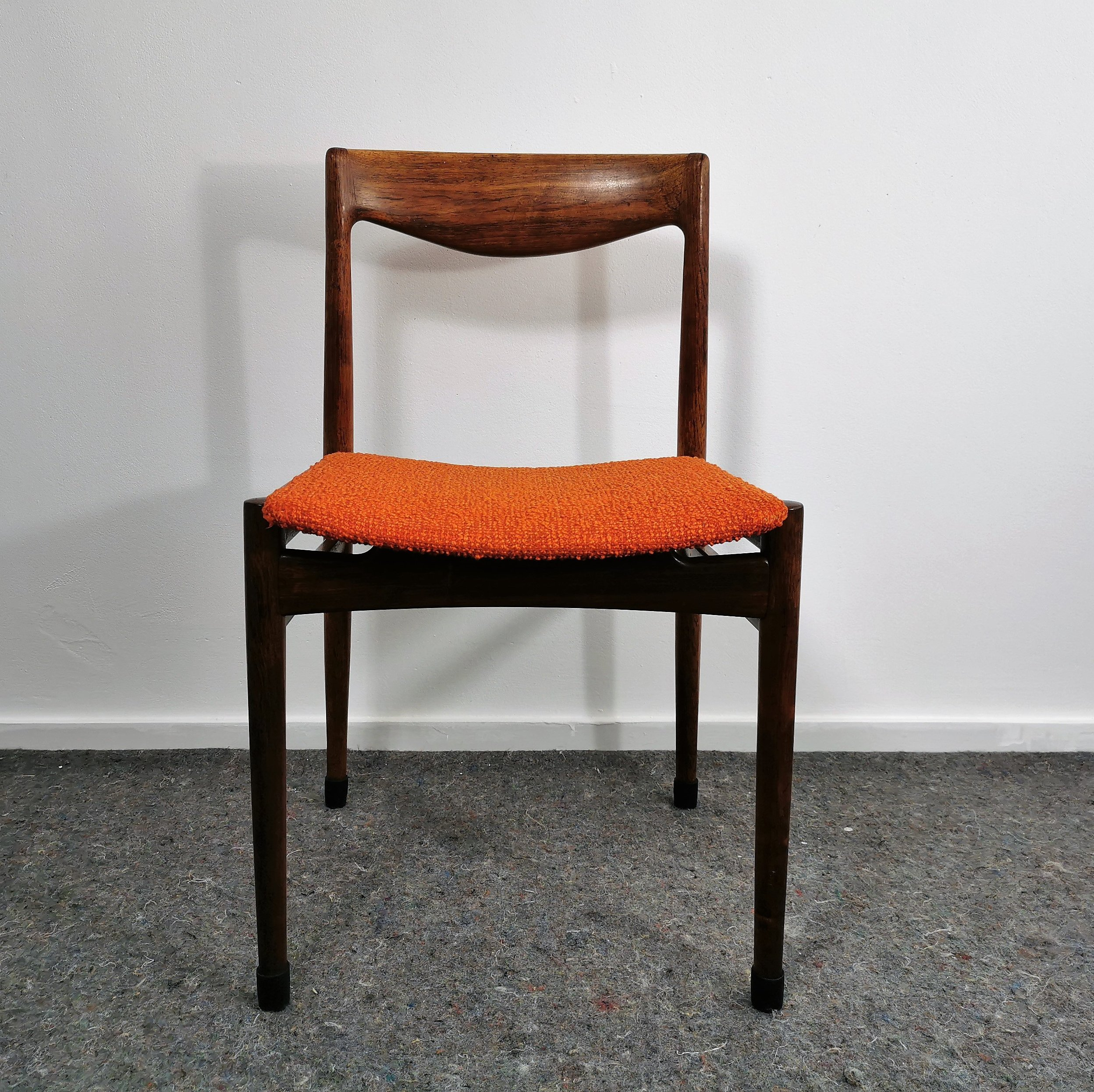Mid Century Modern Rosewood Lubke Dining Chair 1960 S 119673