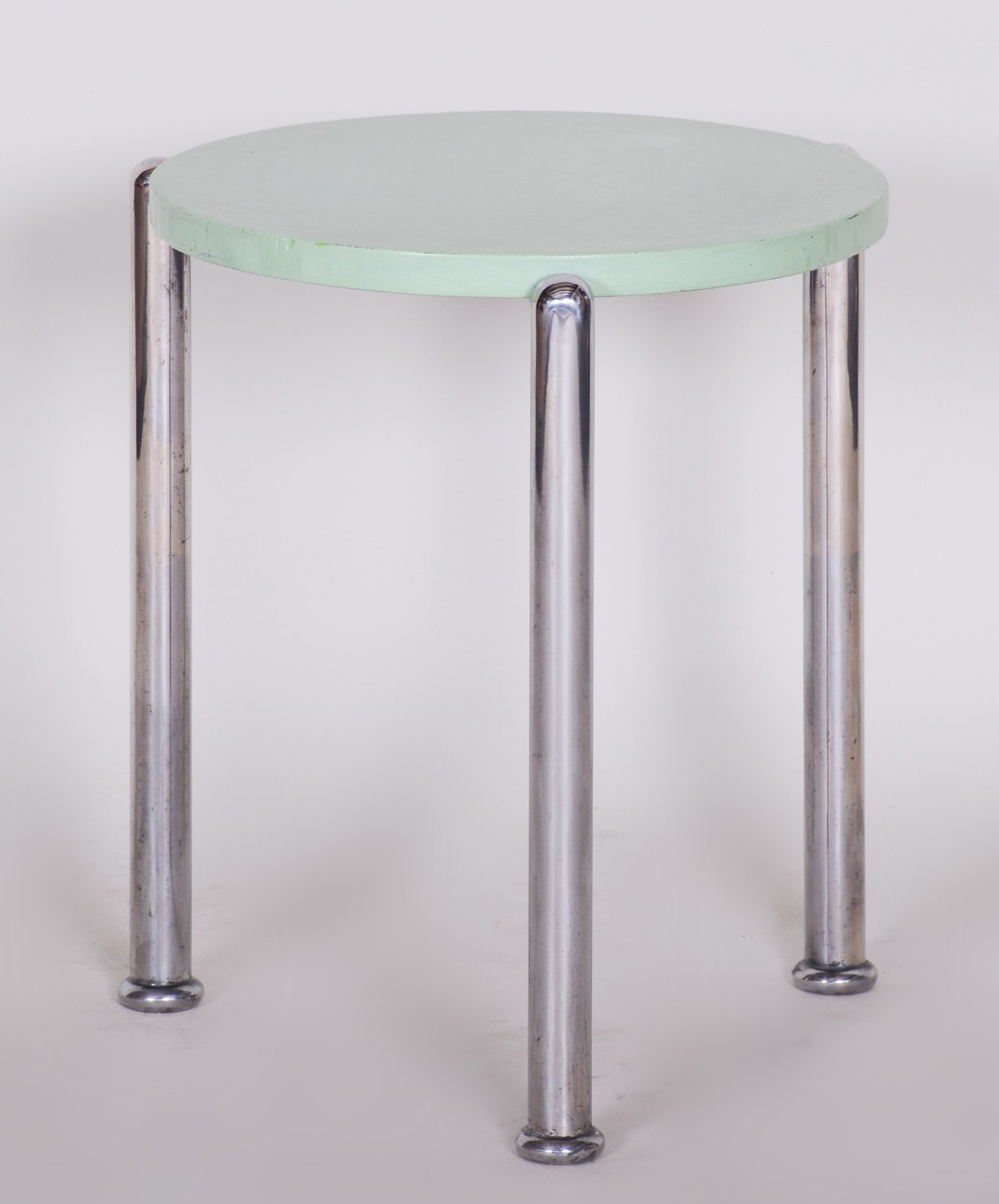 Picture of: Czech Bauhaus Chrome Small Coffee Table 1930s 119894
