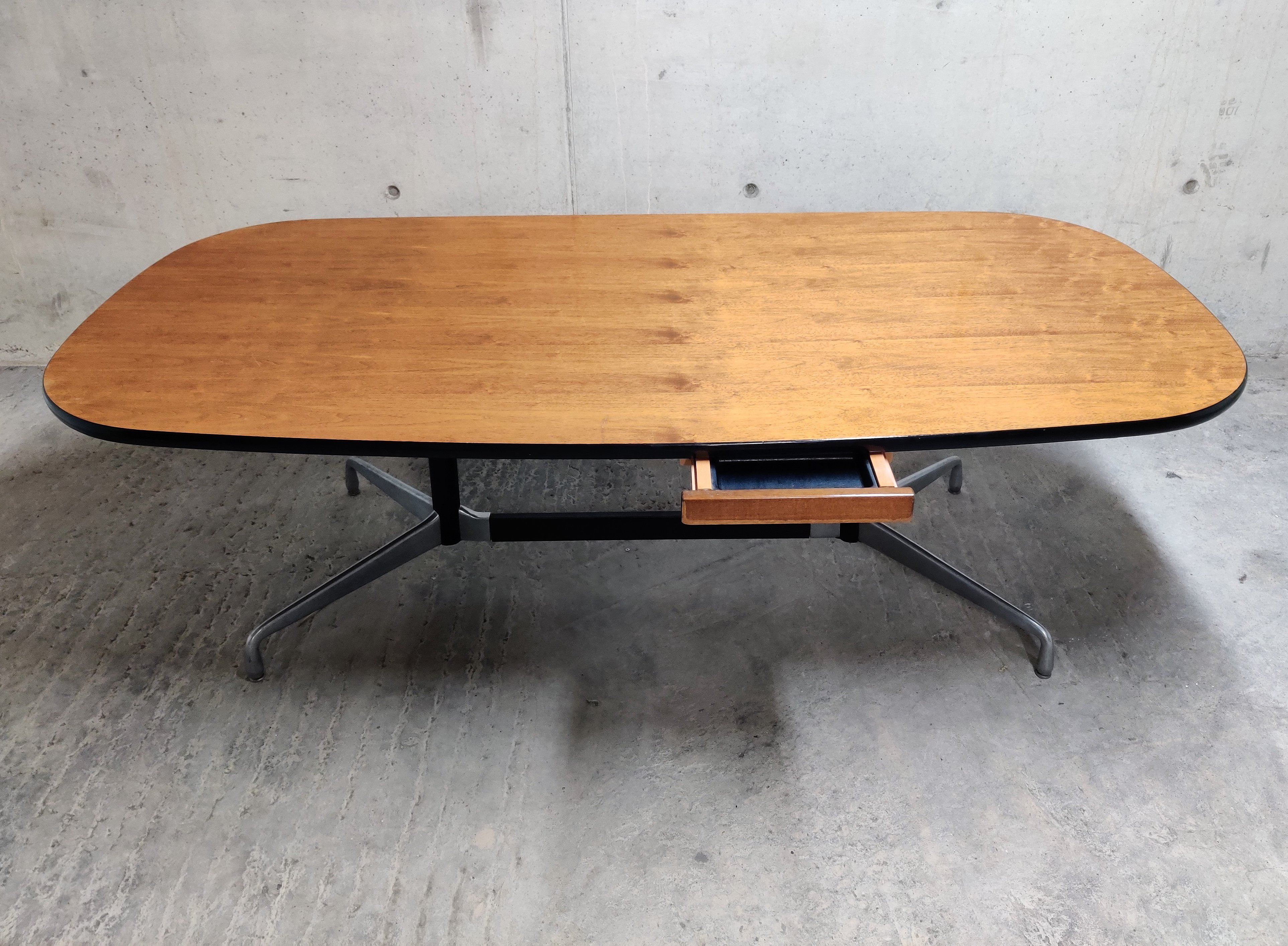 Charles Ray Eames For Herman Miller Dining Or Office Table 1970s 123383