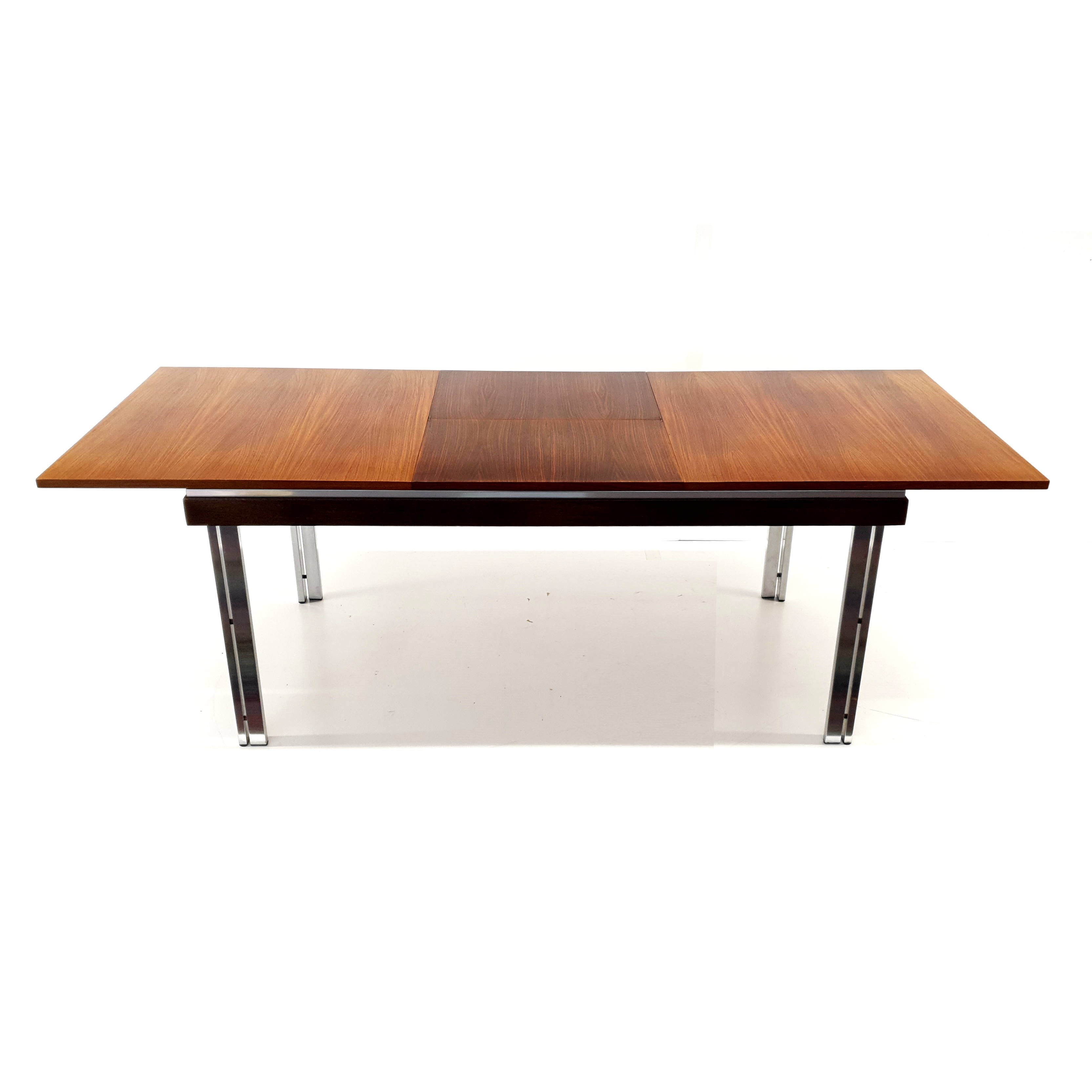 Vintage Extendable Dining Table By Belgian Architect Roger De Winter 1960s 124661