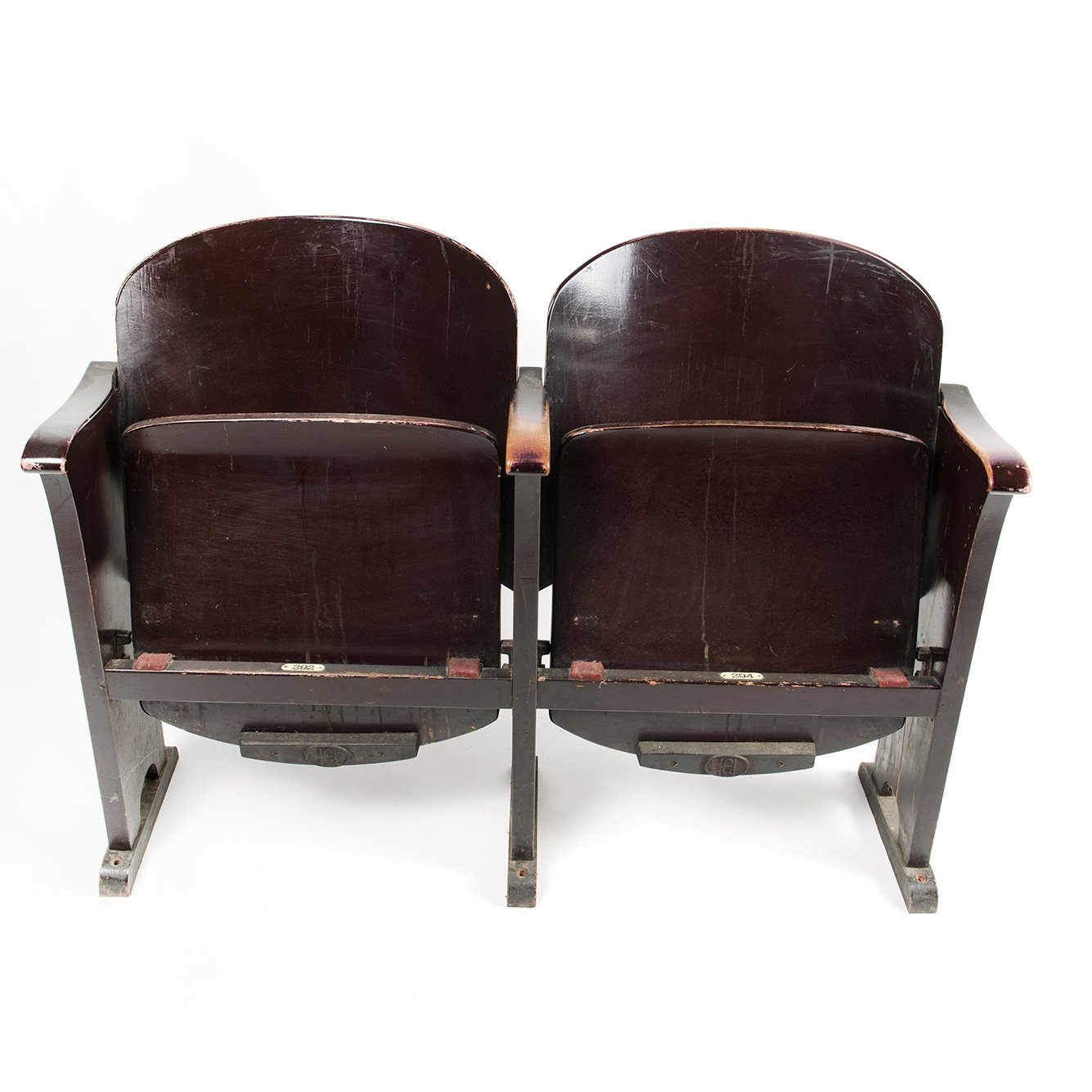 Movie Theatre Chairs 1950s 126252