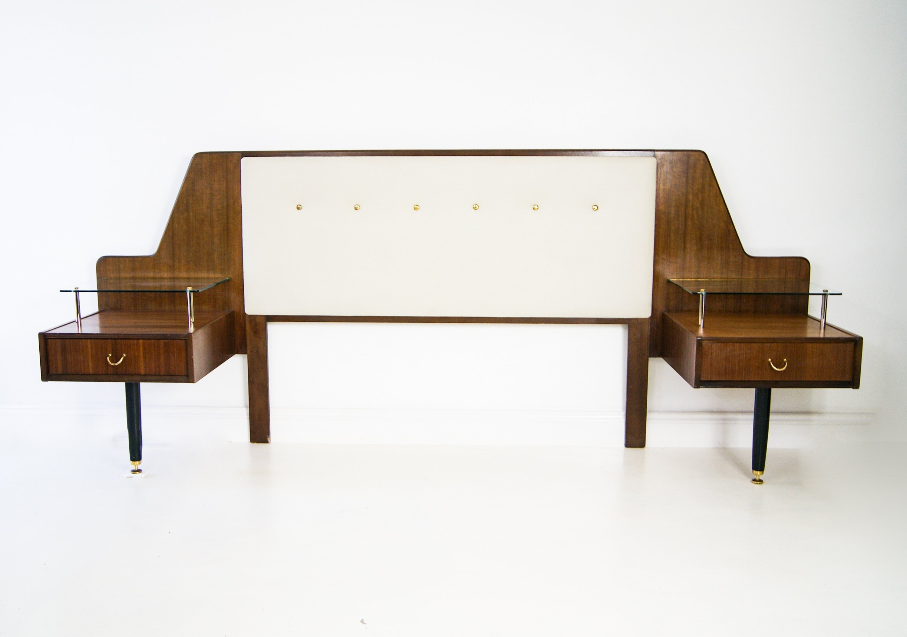 Teak Bed Headboard by E. Gomme for G Plan, 1950s | #126617
