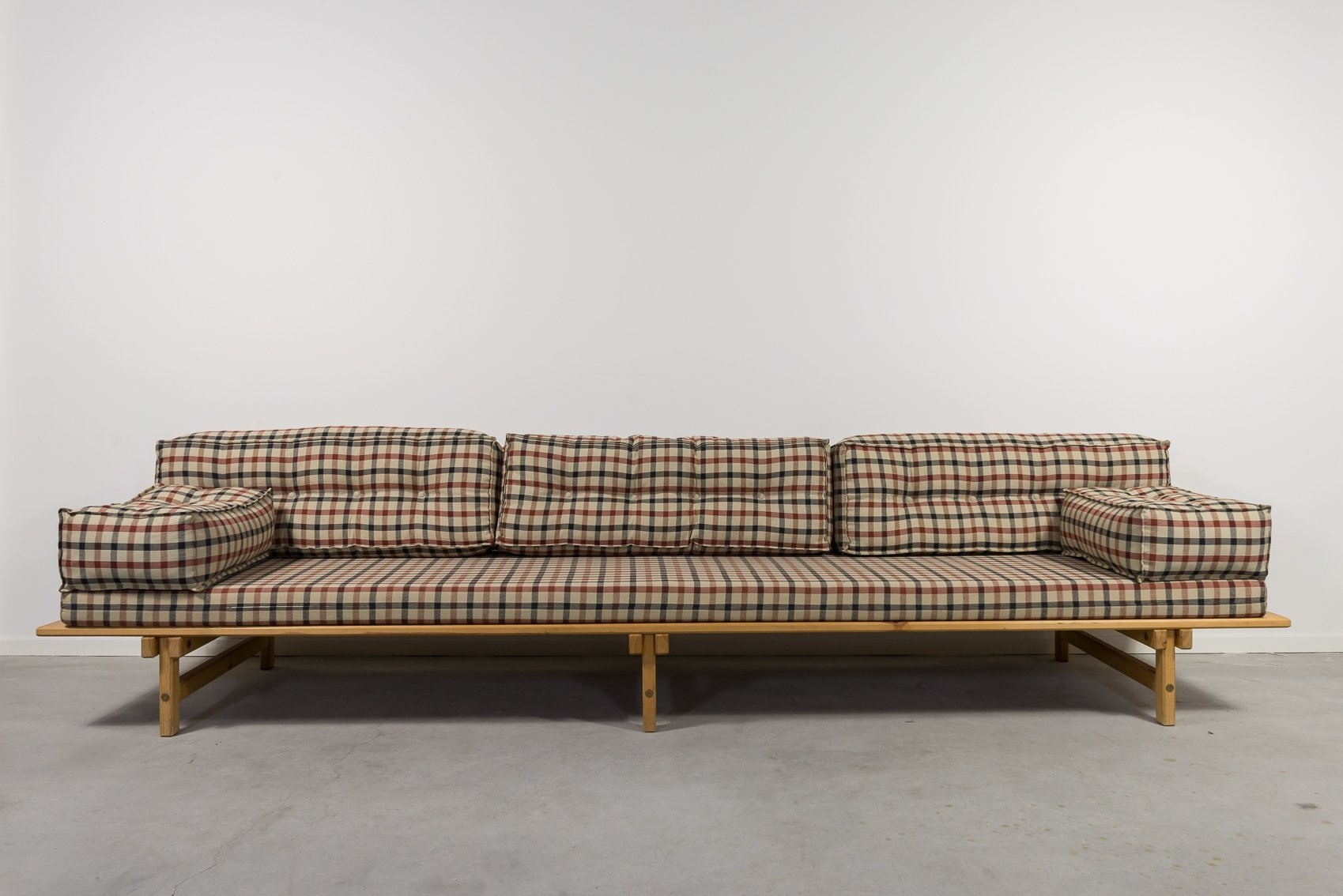 - Mid-Century Lounge Sofa-daybed By Borge Mogensen, 1960's #126711
