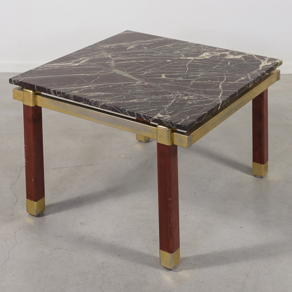 Picture of: 1960 S Danish Modern Marble Top Side Coffee Table By Bendixen 126765