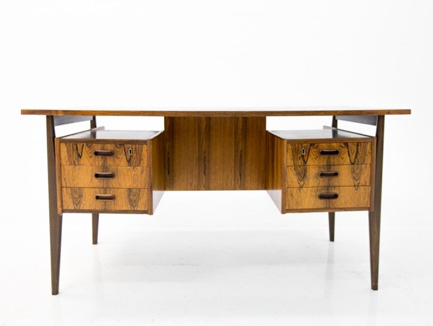 Image of: Mid Century Modern Rosewood Writing Desk 127051