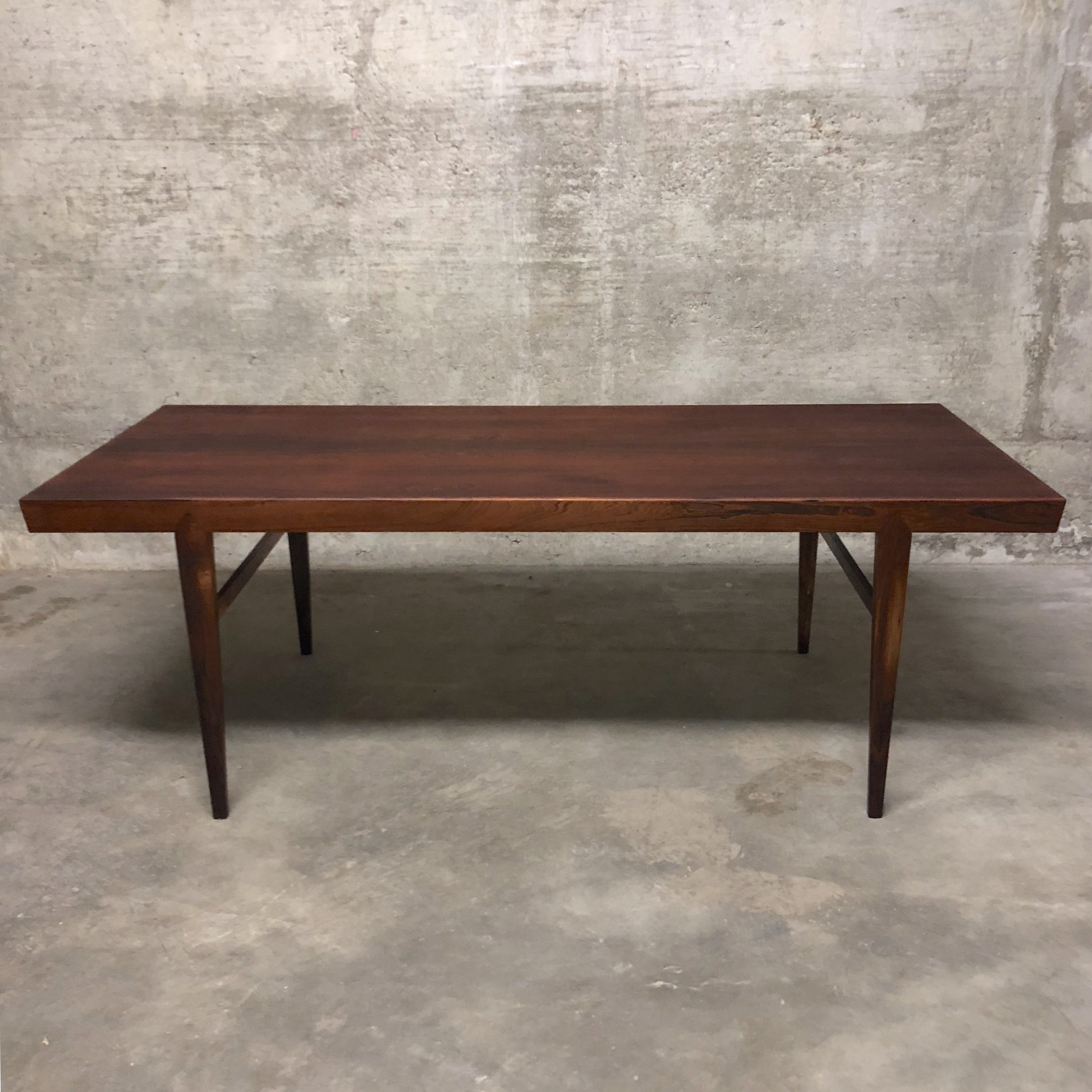 Severin Hansen Rosewood Coffee Table For Haslev 1955 128026