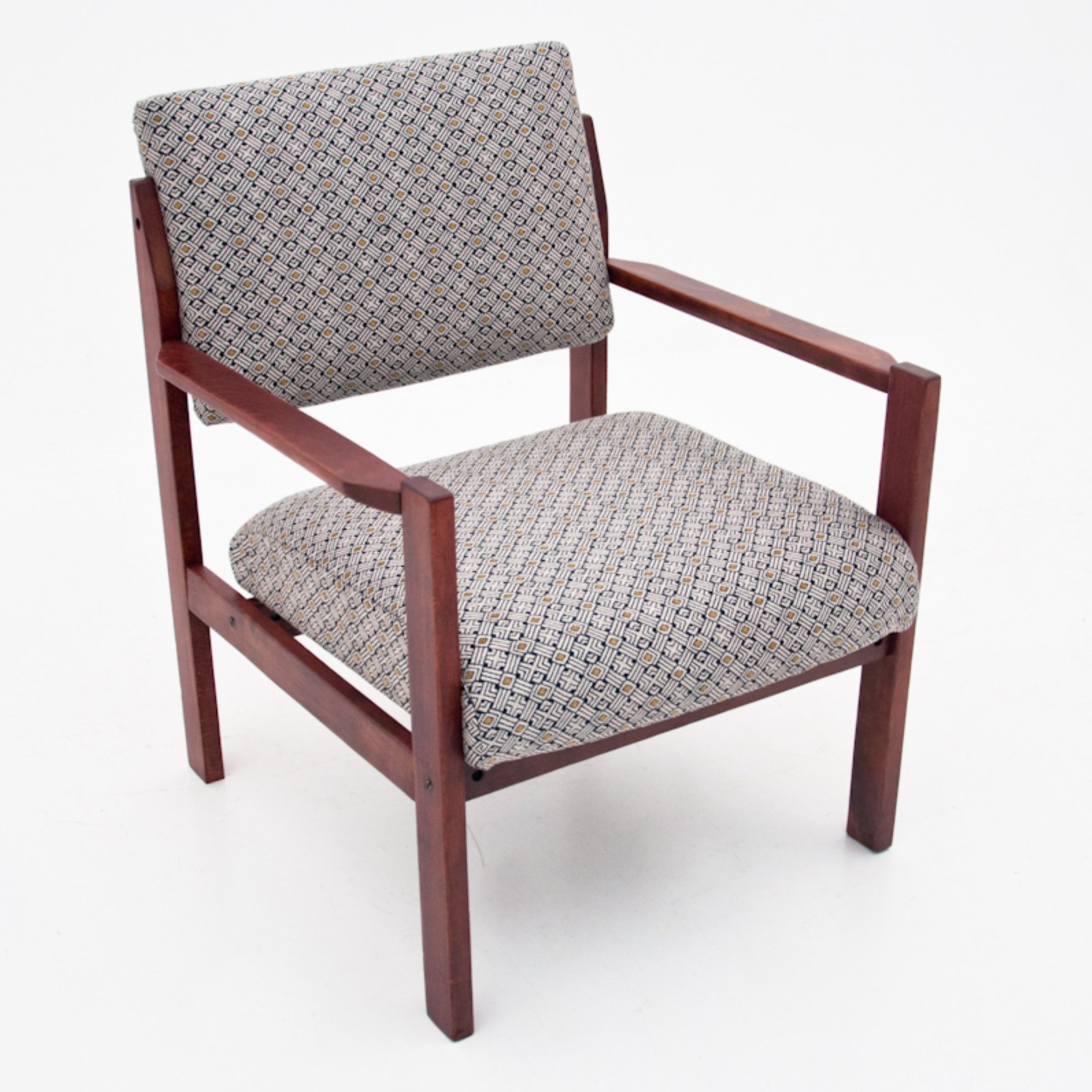 Picture of: Vintage Mid Century Modern Armchair 1960s 128317