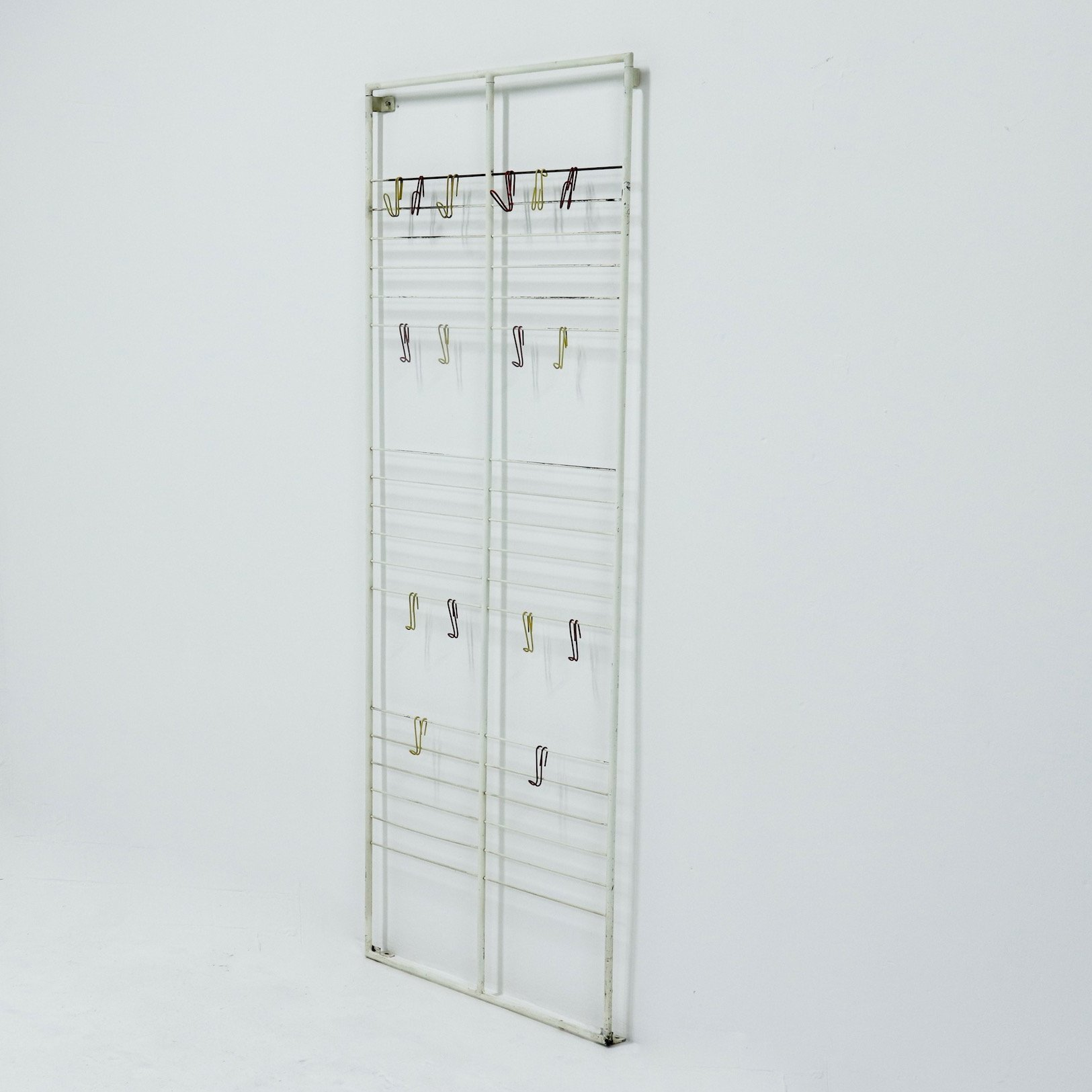 Large Wall Mounted Coat Rack By Coen De Vries For Devo 1950s 128556