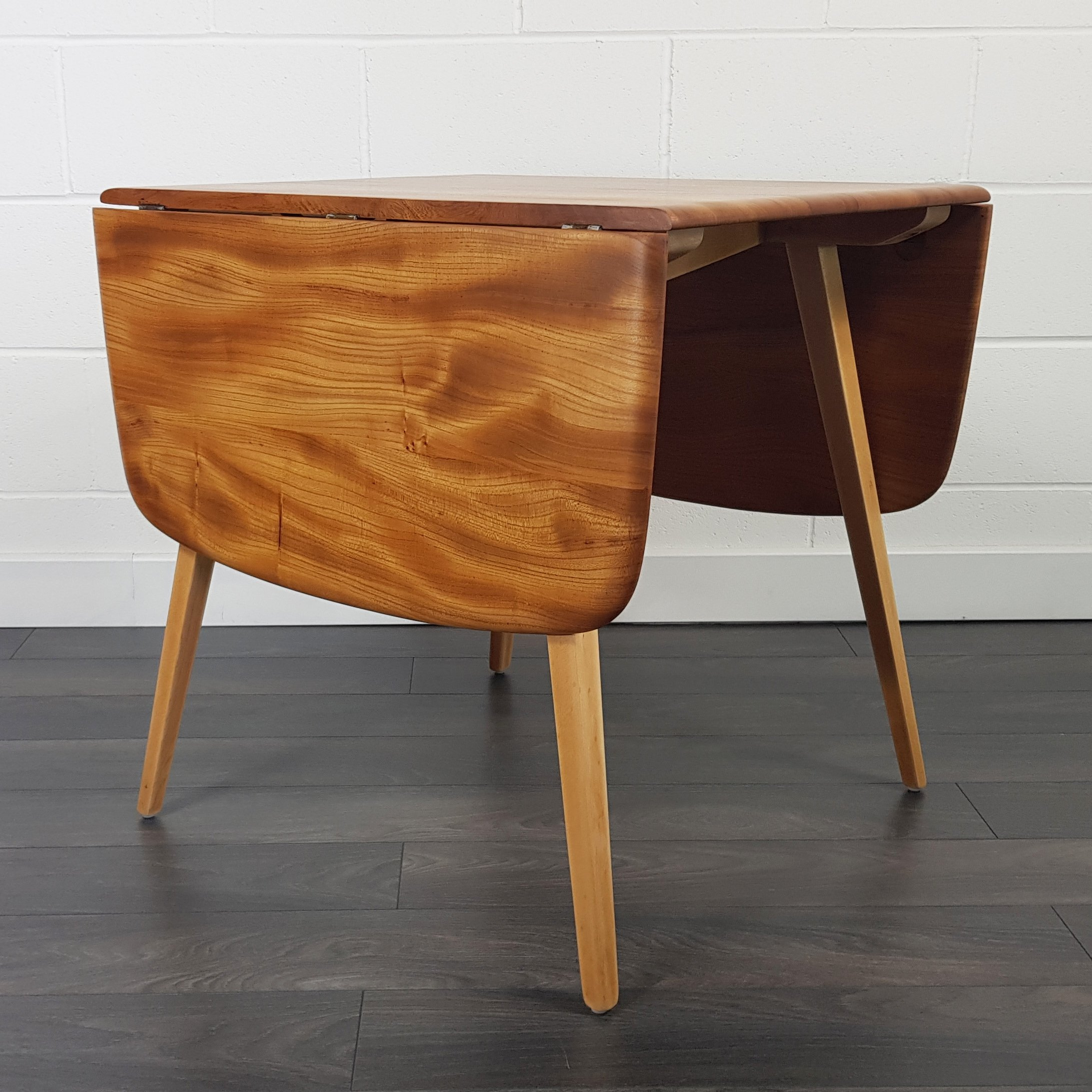 Ercol Drop Leaf Dining Table 1960s 135321