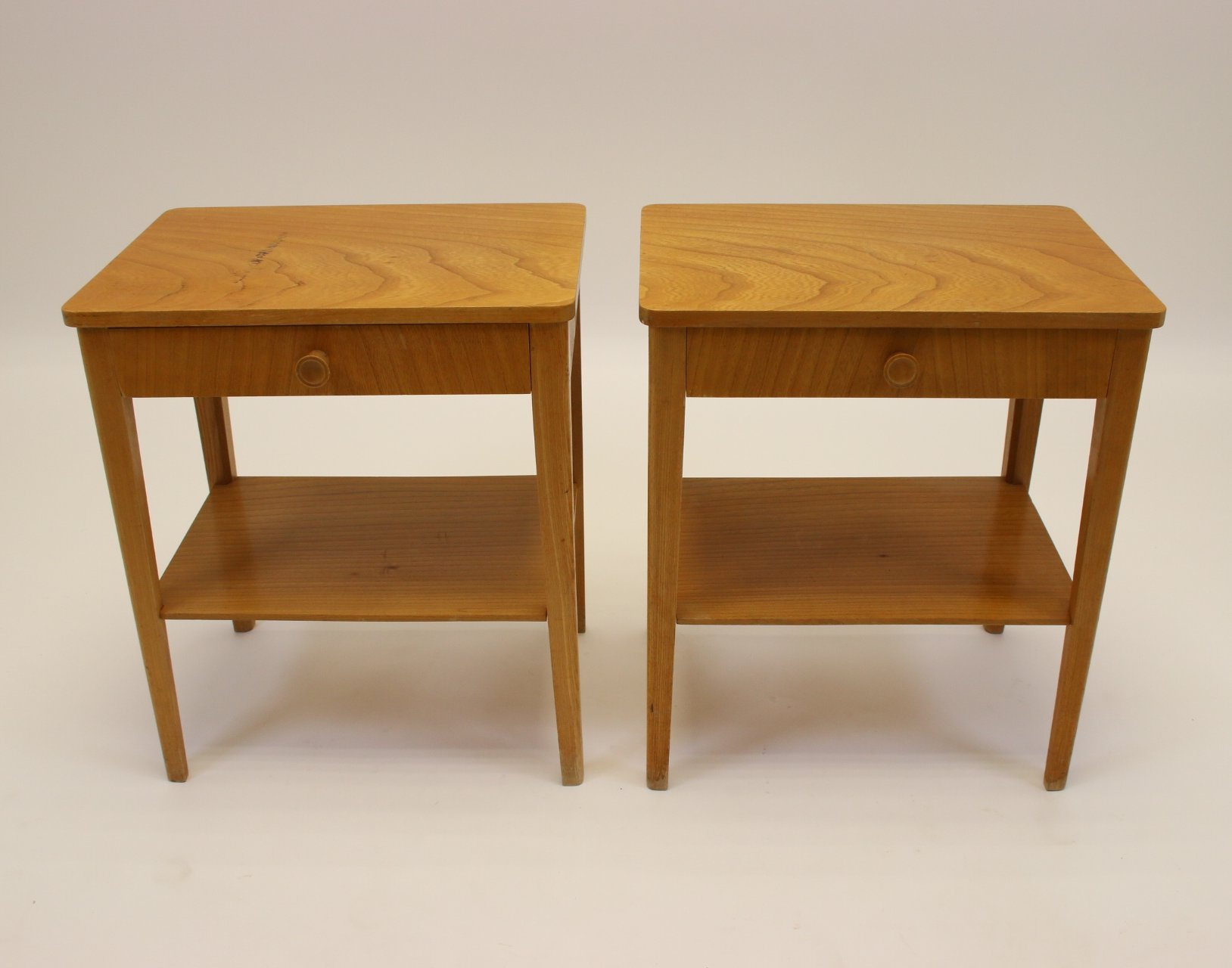 Picture of: Set Of Swedish Bedside Tables 1960s 137960