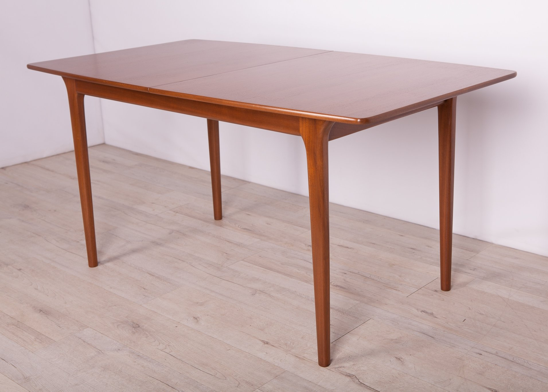 Mid Century Teak Extendable Dining Table From Mcintosh 1960s 138285