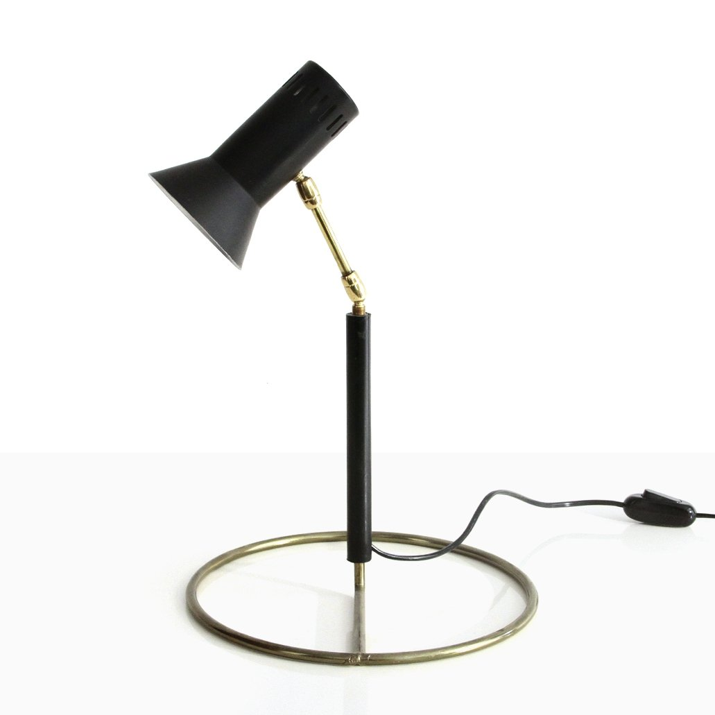 Picture of: Table Lamp With Brass Base 1960s 145405