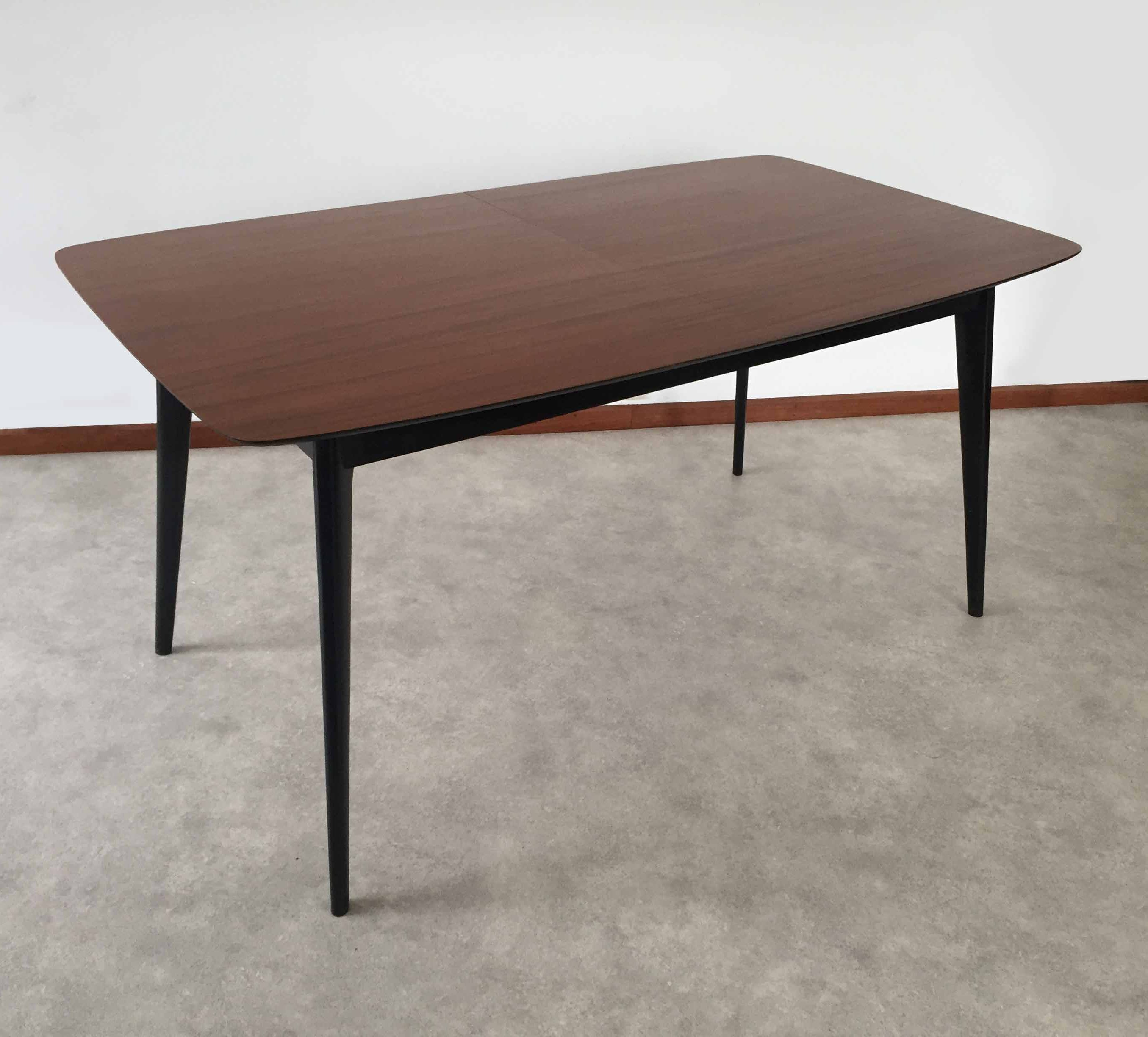 Mid century modern T9 dining table by Alfred Hendrickx, 9950s ...
