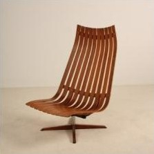Lounge Chair by Hans Brattrud for Hove Möbler