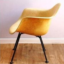 DAX Lounge Chair by Charles and Ray Eames for Zenith Plastics