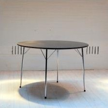 Model 3600 Dining Table by Arne Jacobsen for Fritz Hansen