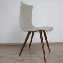 Set of 3 dinner chairs by G. van Os, 1950s