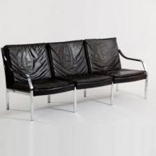 Sofa by Preben Fabricius and Jørgen Kastholm for Walter Knoll