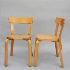 Dinner Chair by Alvar Aalto for Artek