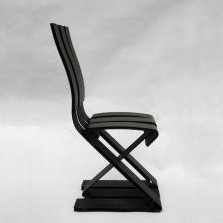 School lounge chair from the eighties by Ron Arad for Vitra