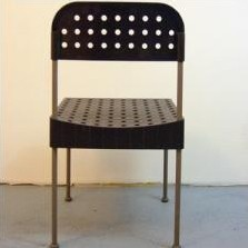 2 x The Box dining chair by Enzo Mari for Driade