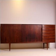 Sideboard by Henry Rosengreen Hansen for Brande Møbelfabrik