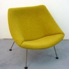 F157 Little Oyster Lounge Chair by Pierre Paulin for Artifort
