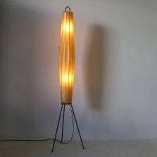 Lugano floor lamp by H. Klingele, 1950s