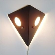 C-1651 Night Owl Wall Lamp by Unknown Designer for Raak Amsterdam