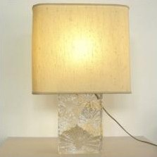 Daum France desk lamp, 1960s
